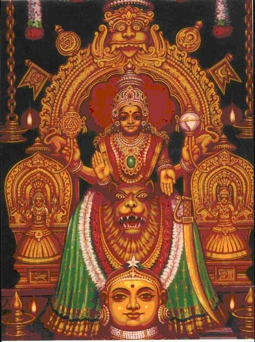 ஸ்ரீ  மூகாம்பிகை அஷ்டகம் - தமிழ் கவிதை வடிவில்...